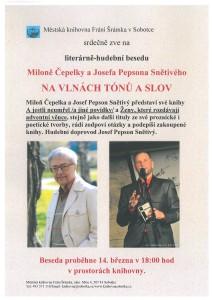 Miloň Čepelka a Josef Pepson Snětivý
